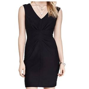 Express Textured Little Black Dress